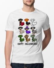 Happy Hallowiener Classic T-Shirt lifestyle-mens-crewneck-front-13