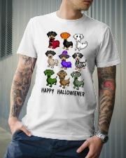 Happy Hallowiener Classic T-Shirt lifestyle-mens-crewneck-front-6