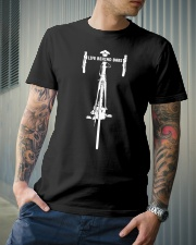 Life behind bars for cycling lover Classic T-Shirt lifestyle-mens-crewneck-front-6