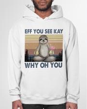 EFF YOU SEE KAY Hooded Sweatshirt garment-hooded-sweatshirt-front-03