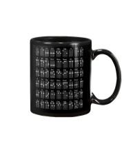 Ukulele chords design Mug front