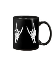Rock n roll skeleton hand cool design for you Mug tile