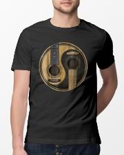 Yin Yang guitar design - gift for guitar lover Classic T-Shirt lifestyle-mens-crewneck-front-13