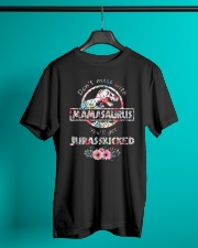 Dont Mess With Mamasaurus Classic T-Shirt lifestyle-mens-crewneck-front-3