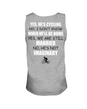Funny Shirt For Cyclist's Wife Unisex Tank thumbnail