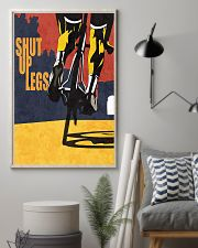 Shut up legs cycling design 11x17 Poster lifestyle-poster-1