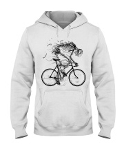 Cycling skeleton - cycling till die Hooded Sweatshirt thumbnail