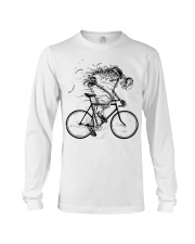 Cycling skeleton - cycling till die Long Sleeve Tee thumbnail