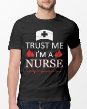 Trust Me I'm A Nurse T-shirt Classic T-Shirt lifestyle-mens-crewneck-front-13