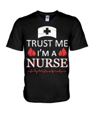 Trust Me I'm A Nurse T-shirt V-Neck T-Shirt thumbnail