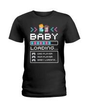 Baby Loading Ladies T-Shirt thumbnail