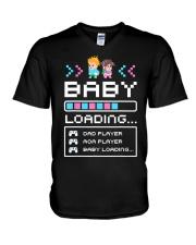 Baby Loading V-Neck T-Shirt thumbnail