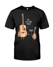 Uke I Am Your Father Funny Shirt Classic T-Shirt front