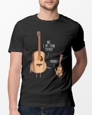 Uke I Am Your Father Funny Shirt Classic T-Shirt lifestyle-mens-crewneck-front-13