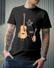 Uke I Am Your Father Funny Shirt Classic T-Shirt lifestyle-mens-crewneck-front-6