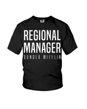 Regional Manager Youth T-Shirt front