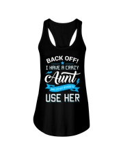 Back Off I Have A Crazy Aunt - Gift For Kid Ladies Flowy Tank thumbnail