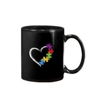 Love Ribbon Heart Autism Mug thumbnail