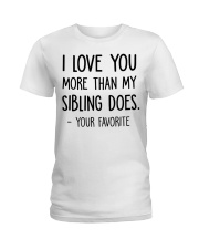 Best Father's Day Gift For Dad Ladies T-Shirt thumbnail