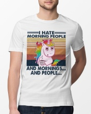 I Hate Morning People Classic T-Shirt lifestyle-mens-crewneck-front-13