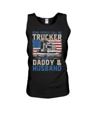 Truck Driver Gift Trucker Daddy Husband Unisex Tank thumbnail