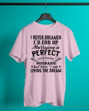 Perfect Gift For Your Wife Classic T-Shirt lifestyle-mens-crewneck-front-3