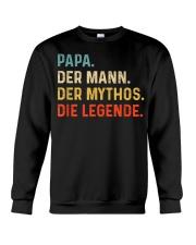 PAPA DER MANN DER MYTHOS DIE LEGENDE Crewneck Sweatshirt thumbnail