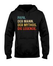 PAPA DER MANN DER MYTHOS DIE LEGENDE Hooded Sweatshirt thumbnail