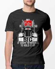 Funny Trucker Gift Classic T-Shirt lifestyle-mens-crewneck-front-13