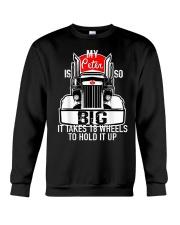 Funny Trucker Gift Crewneck Sweatshirt thumbnail