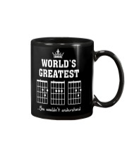 Worlds greatest DAD guitar chords secret message Mug thumbnail