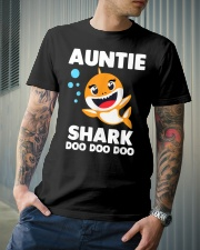 Auntie Shark Doo Doo Doo Classic T-Shirt lifestyle-mens-crewneck-front-6