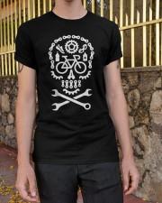 Cycling Skull Classic T-Shirt apparel-classic-tshirt-lifestyle-21