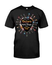 How many guitars does a guitar player need Classic T-Shirt front