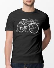 Bicycle diagram Classic T-Shirt lifestyle-mens-crewneck-front-13