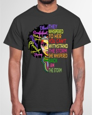I Am The Storm Strong African Woman Classic T-Shirt garment-tshirt-unisex-front-03