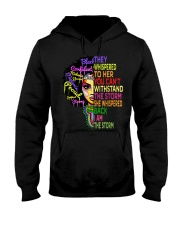 I Am The Storm Strong African Woman Hooded Sweatshirt thumbnail