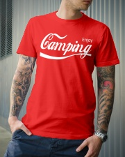 ENJOY CAMPING Classic T-Shirt lifestyle-mens-crewneck-front-6