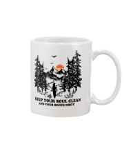Keep your soul clean and your boót dirty Mug thumbnail