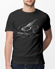 Beautiful design for guitar lovers Classic T-Shirt lifestyle-mens-crewneck-front-13