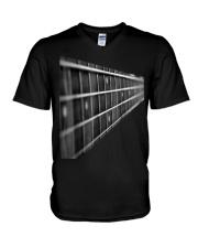 Beautiful design for guitar lover V-Neck T-Shirt thumbnail