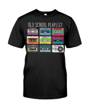 Old school playist Classic T-Shirt front