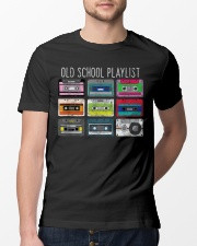Old school playist Classic T-Shirt lifestyle-mens-crewneck-front-13