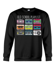 Old school playist Crewneck Sweatshirt thumbnail