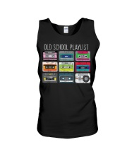 Old school playist Unisex Tank thumbnail
