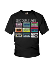Old school playist Youth T-Shirt thumbnail