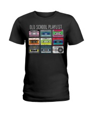 Old school playist Ladies T-Shirt thumbnail