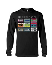 Old school playist Long Sleeve Tee thumbnail