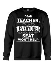 DEAR TEACHER Crewneck Sweatshirt thumbnail