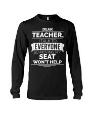 DEAR TEACHER Long Sleeve Tee thumbnail